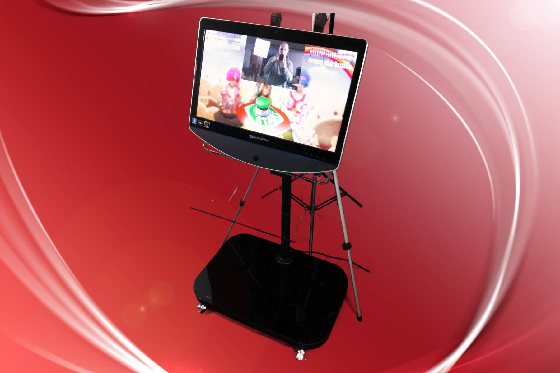 Our touch screen photo kiosk